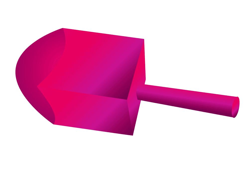 Pink Dreidel clipart
