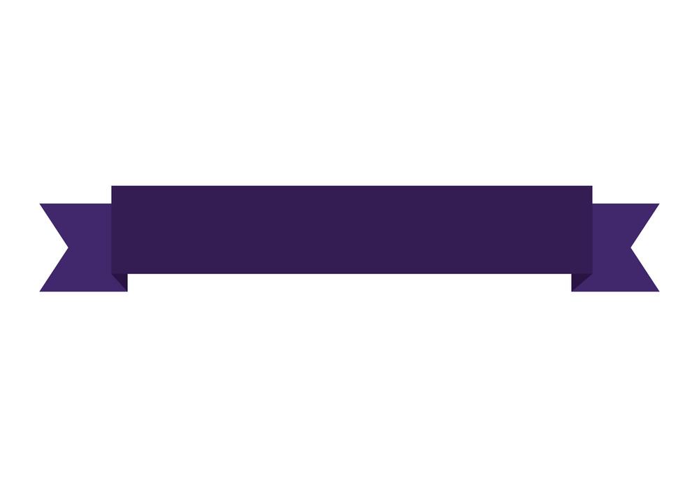 Purple Ribbon Banner clipart