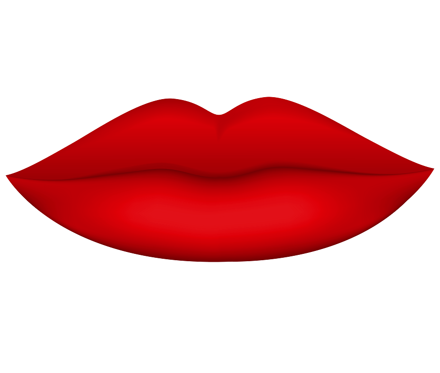 Red Lips clipart 2