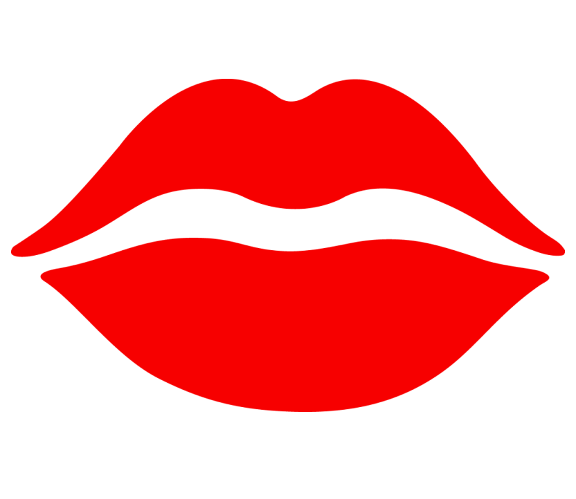 Red Lips clipart 3