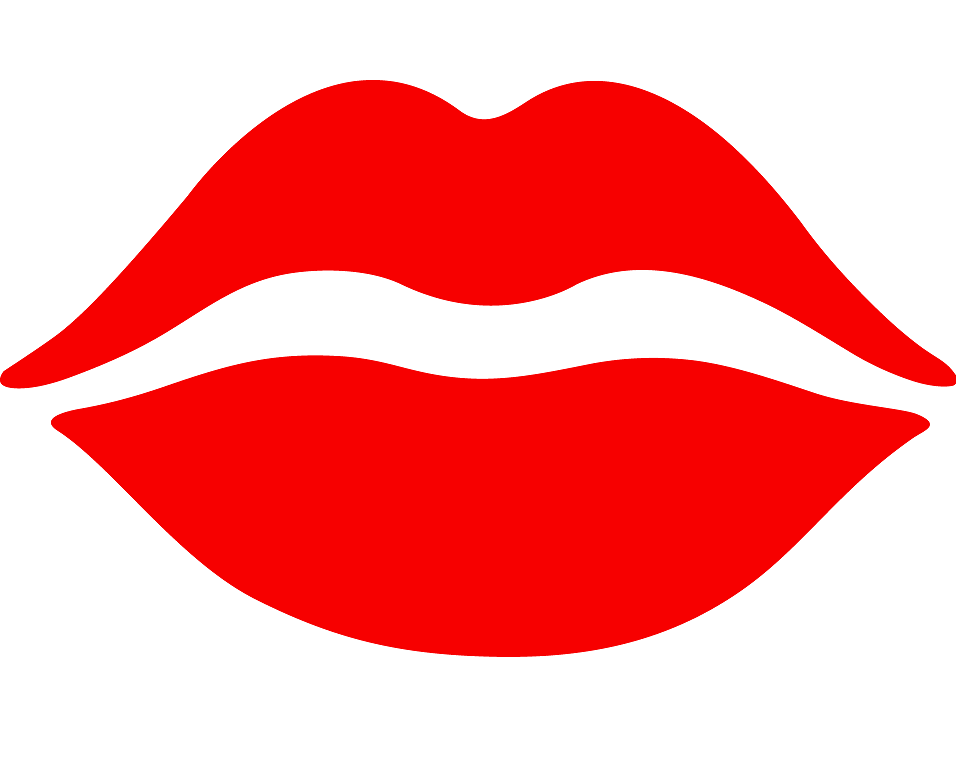 Red Lips clipart 4