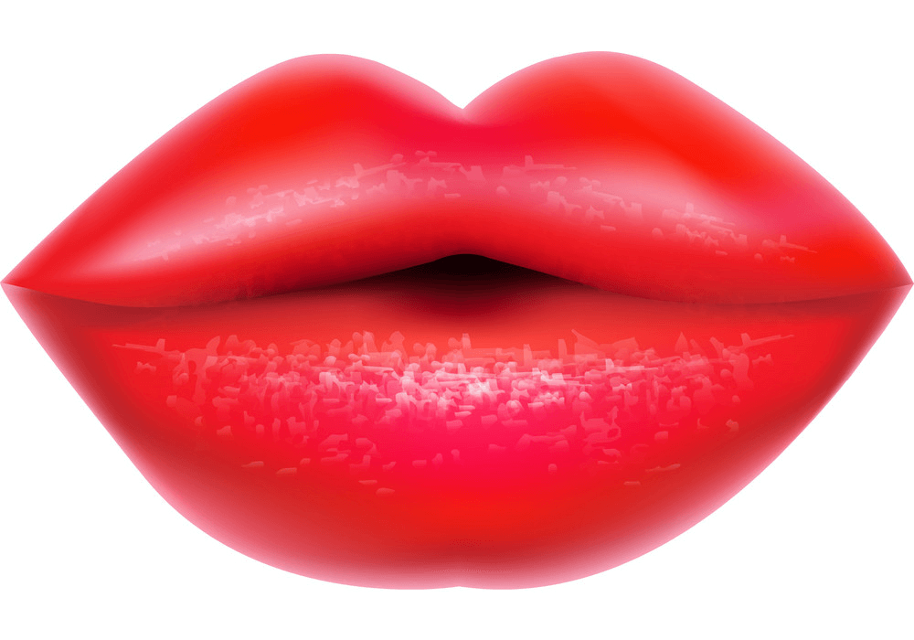 Red Lips clipart png
