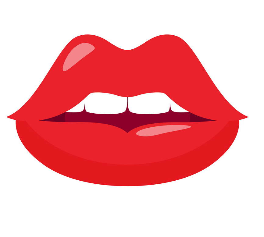 Red Lips clipart