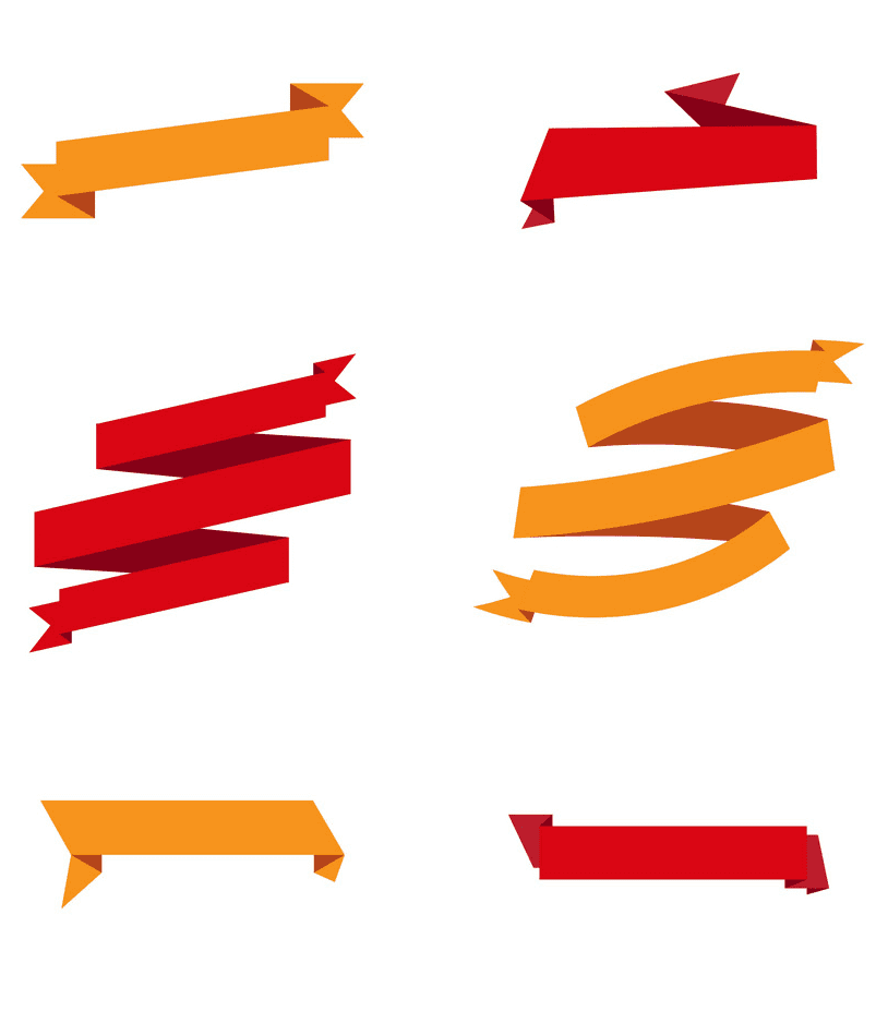 Ribbon Banners clipart free