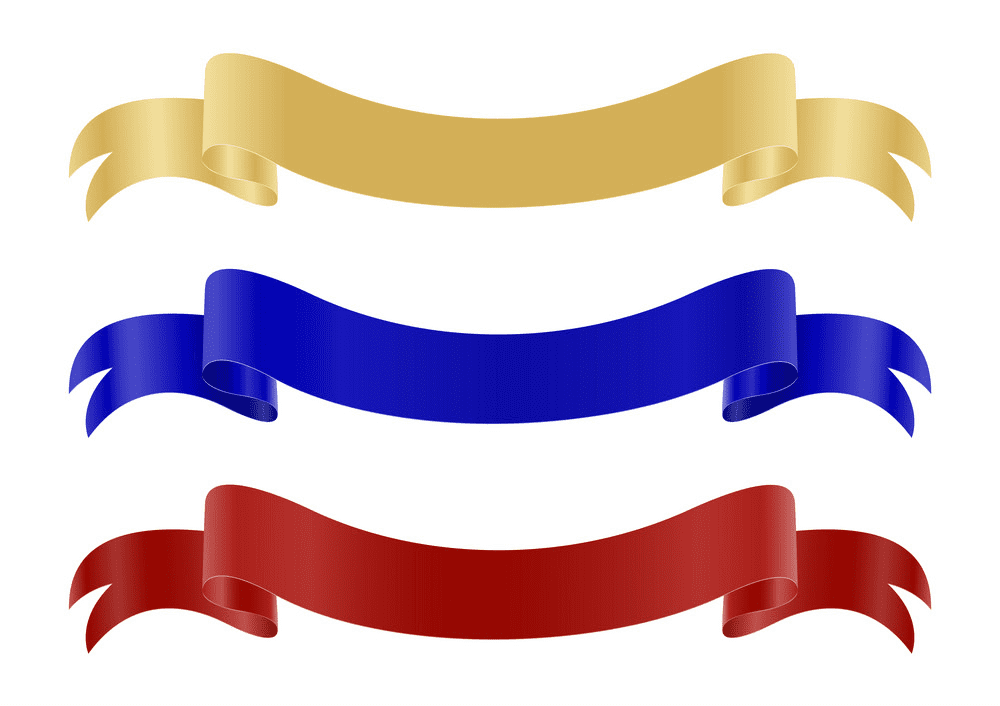 Ribbon Banners clipart png