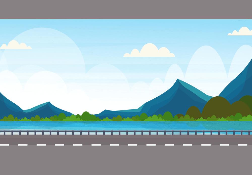 Road clipart 1