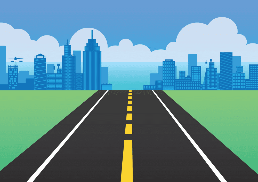 Road clipart free