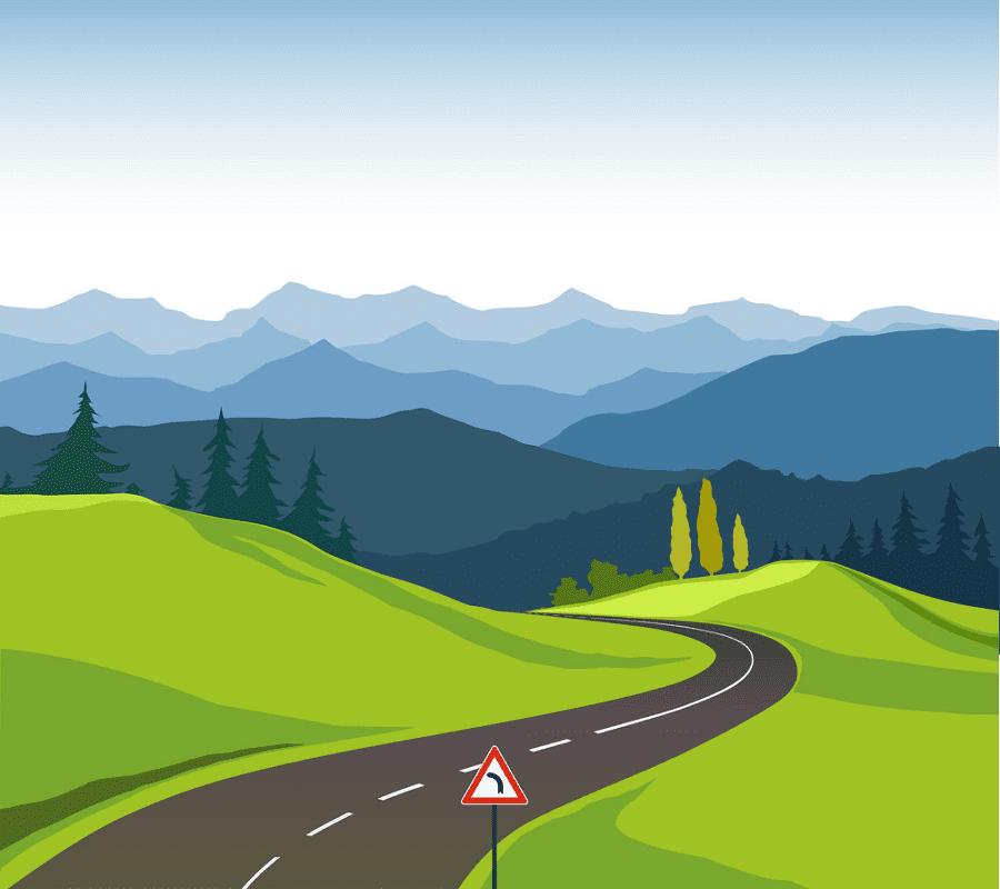 Road clipart png