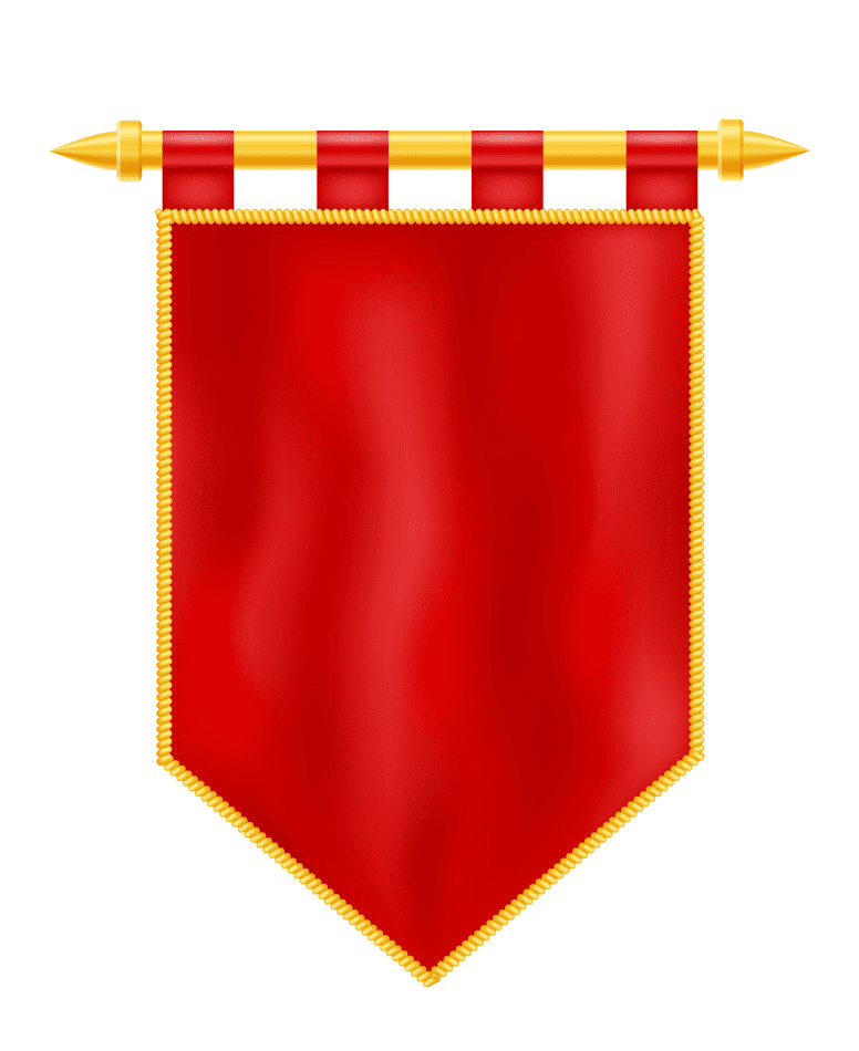Royal Flag Banner clipart