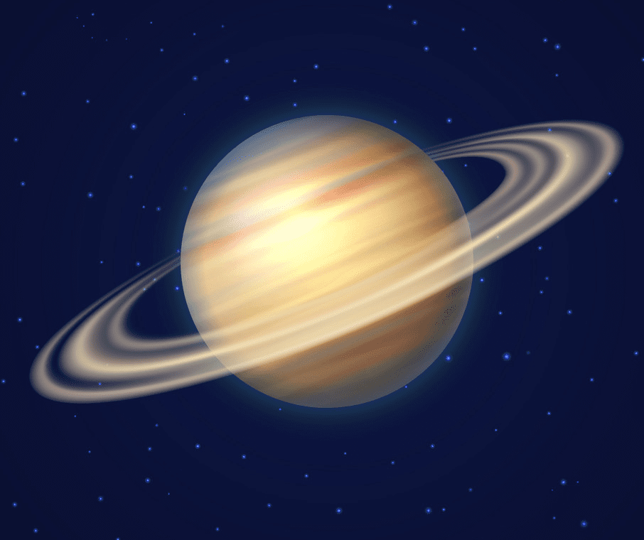 Saturn Planet clipart 1