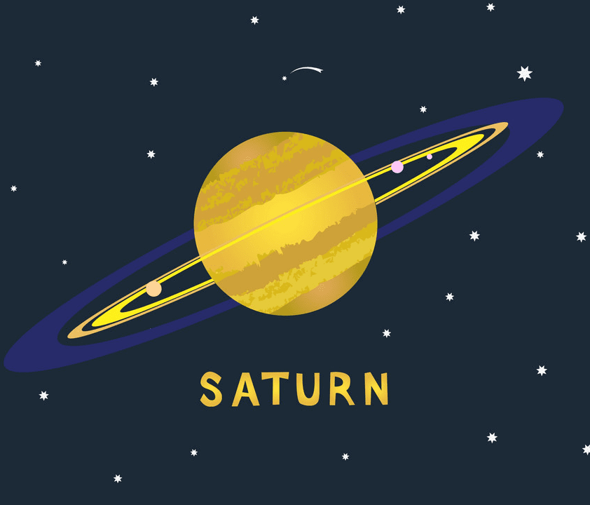 Saturn Planet clipart 2