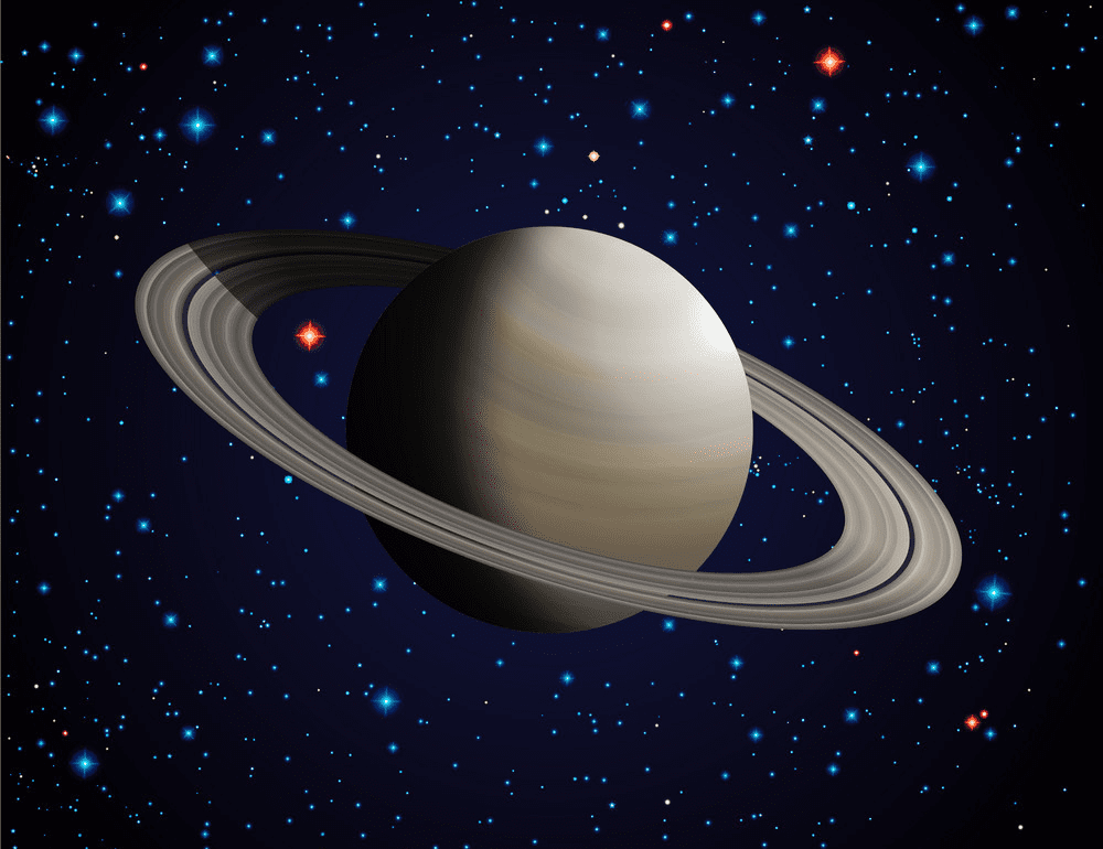 Saturn Planet clipart 3