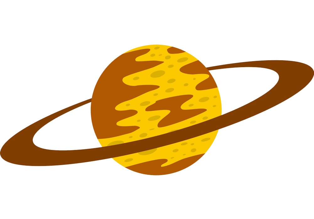 Saturn clipart transparent