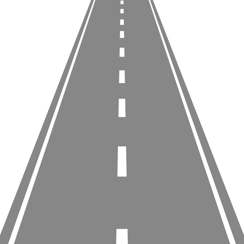 Straight Road clipart 1