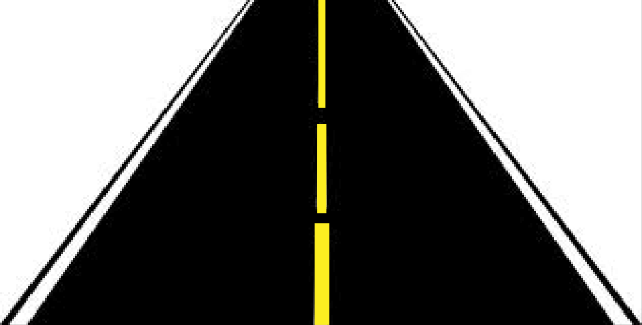 Straight Road clipart 2