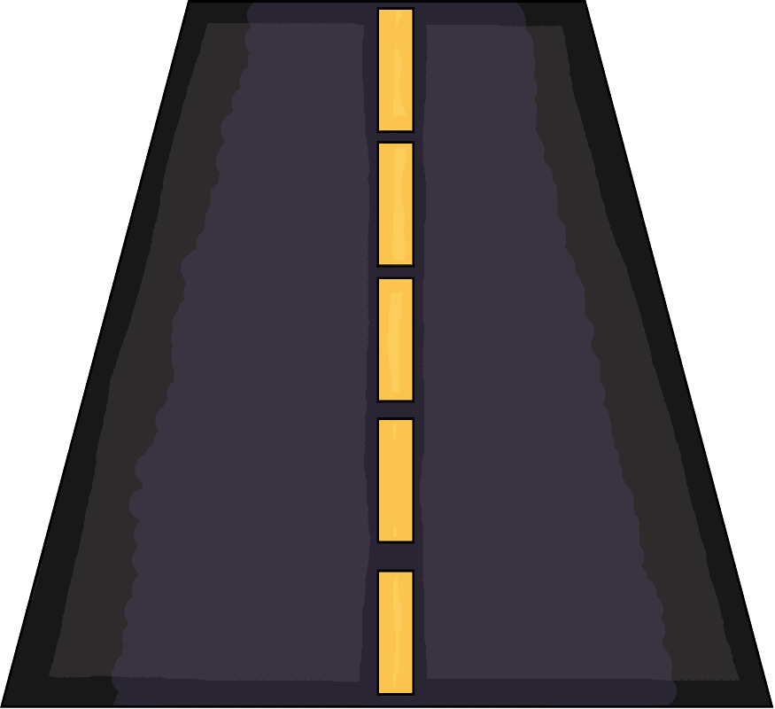 Straight Road clipart 5