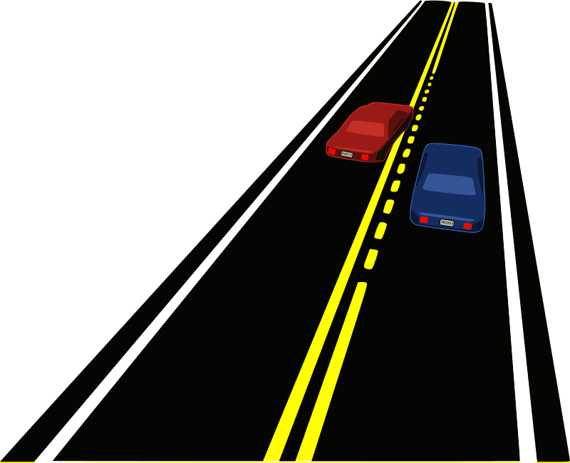 Straight Road clipart 6
