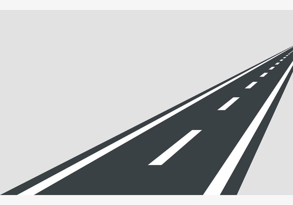 Straight Road clipart free