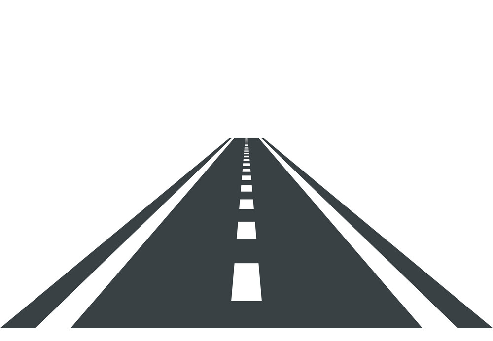 Straight Road clipart
