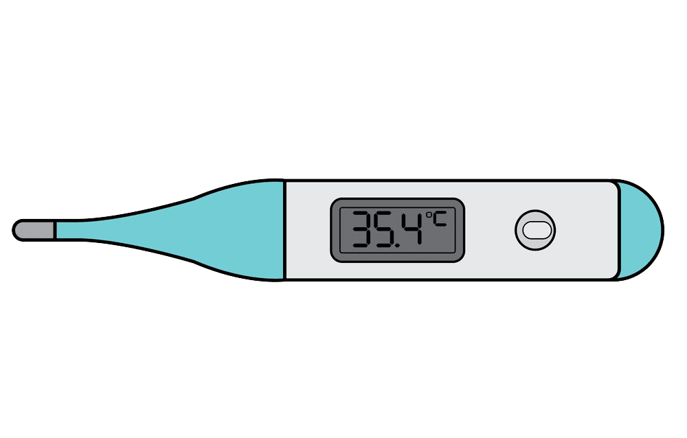 Thermometer clipart transparent 1