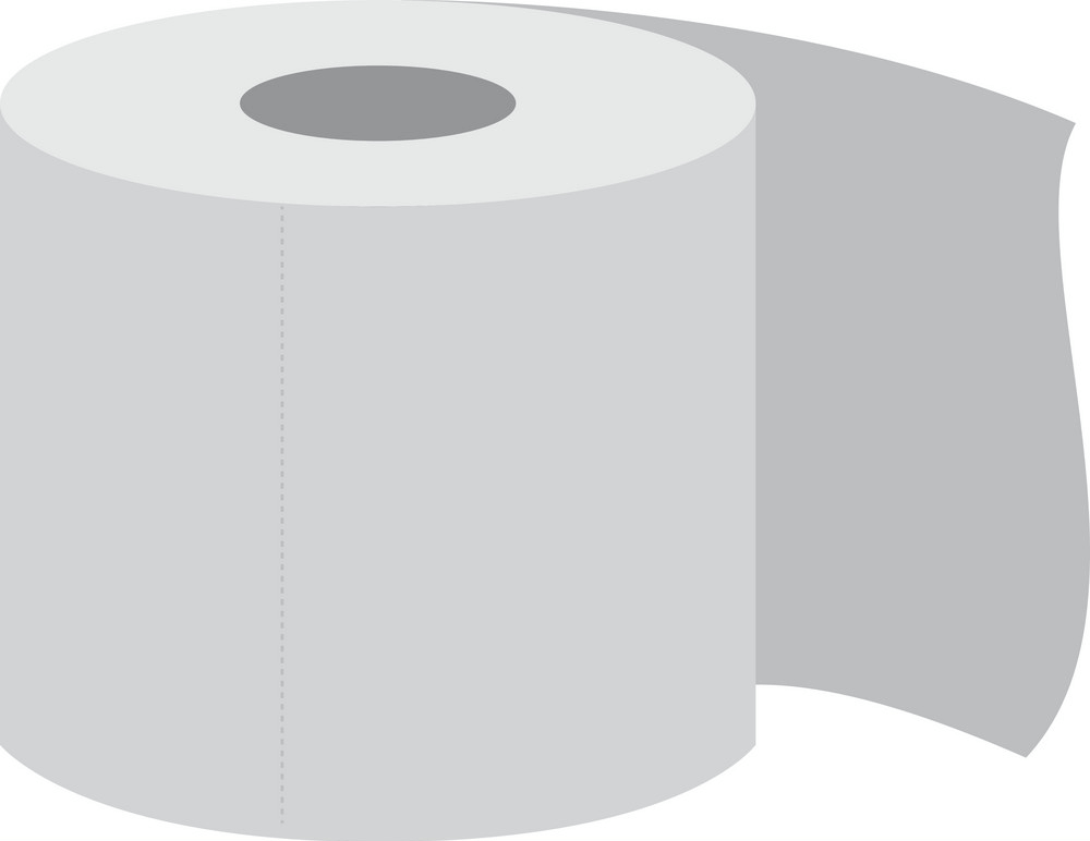 Toilet Paper Roll clipart free