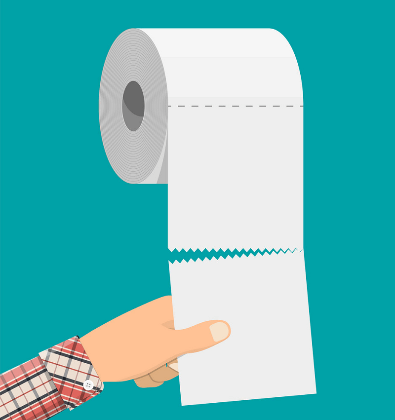 Toilet Paper clipart free