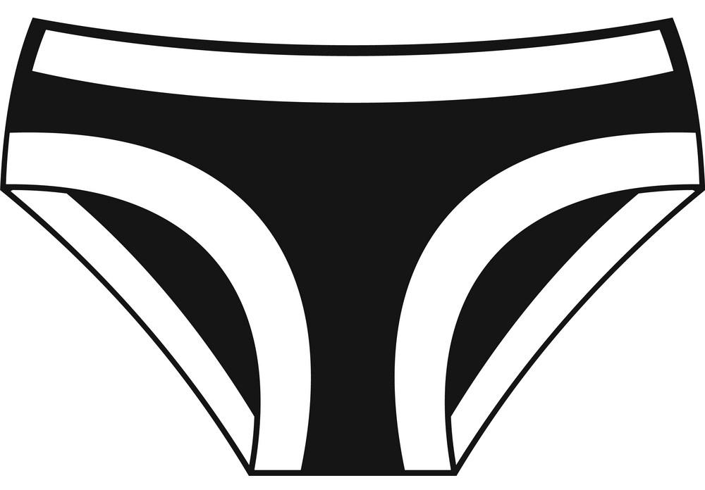 Underwear clipart 1