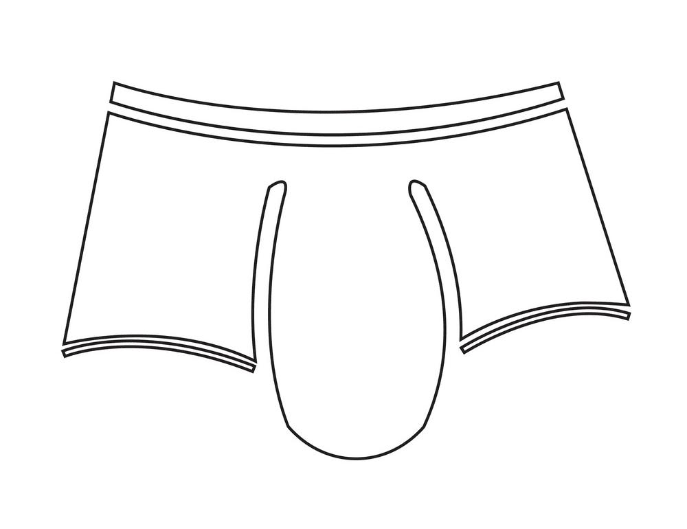 Underwear clipart 3