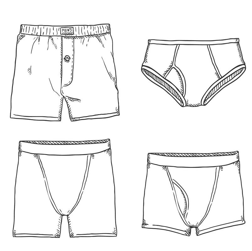 Underwear clipart 4
