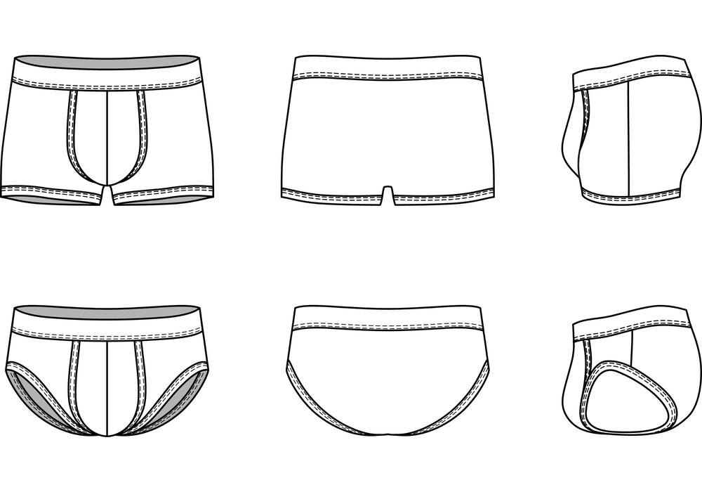 Underwear clipart free