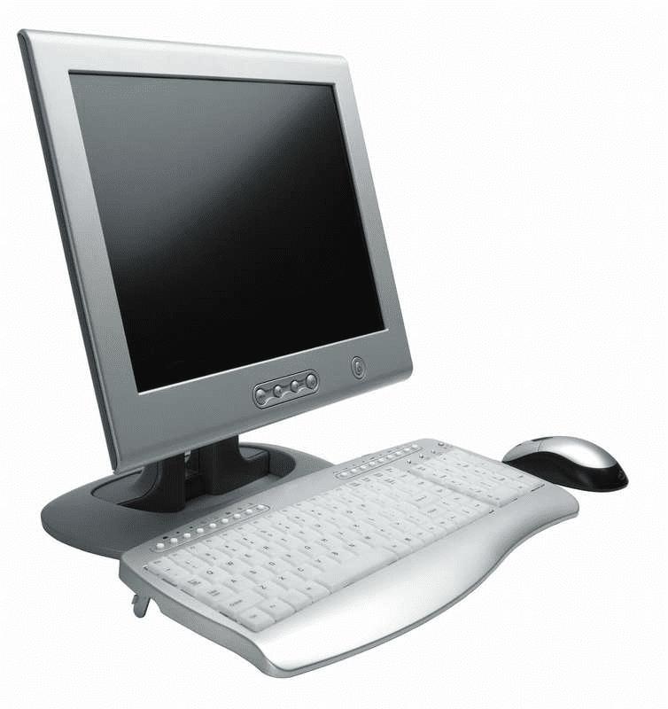 White Computer clipart