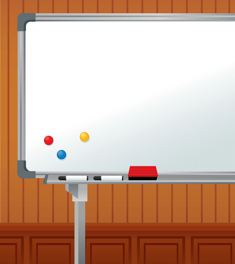 Whiteboard clipart 4