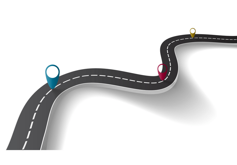 Winding Road clipart free
