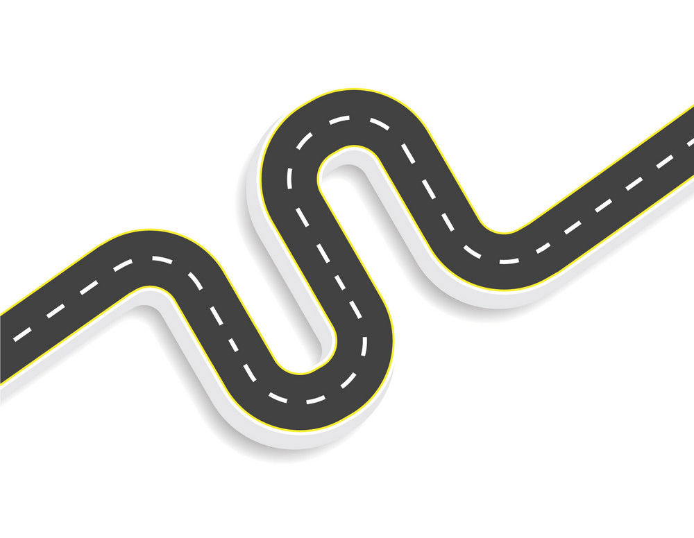 Winding Road clipart png