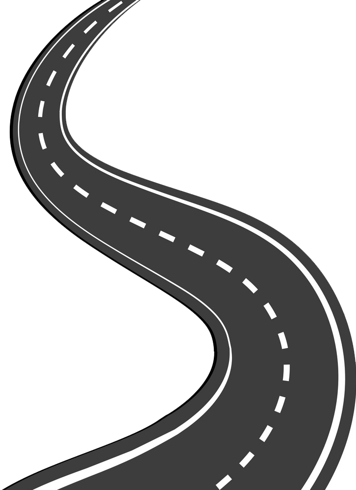 Winding Road clipart transparent 5