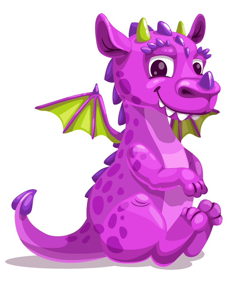 Baby Dragon clipart 1