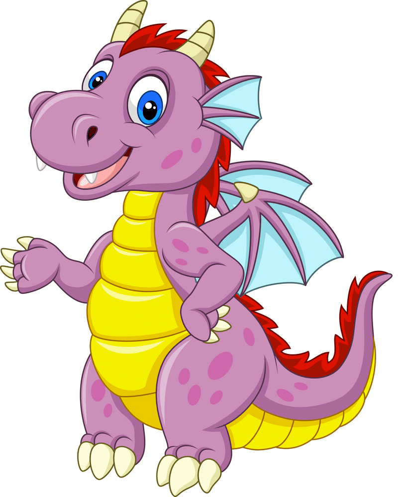 Baby Dragon clipart 3