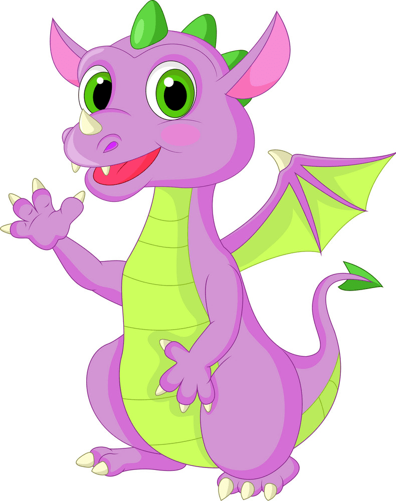 Baby Dragon clipart 5