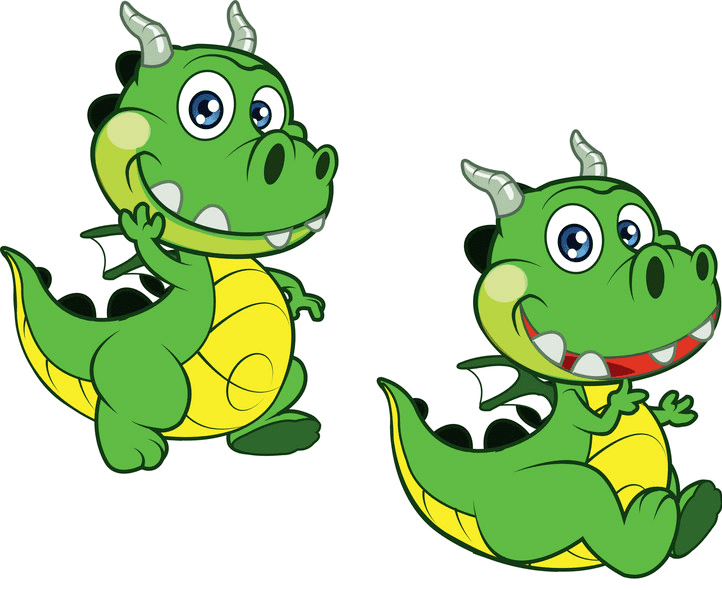 Baby Dragon clipart 6