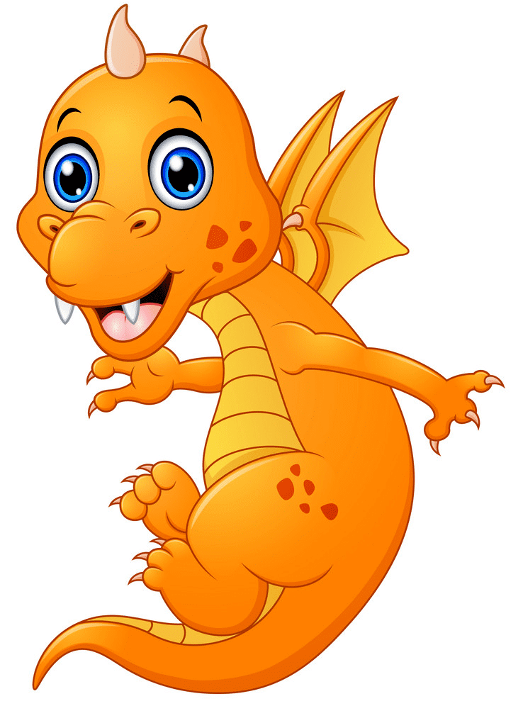 Baby Dragon clipart 7