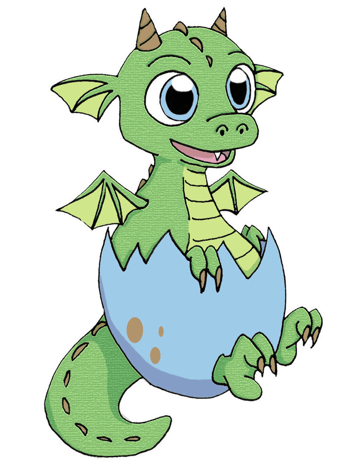 Baby Dragon clipart images