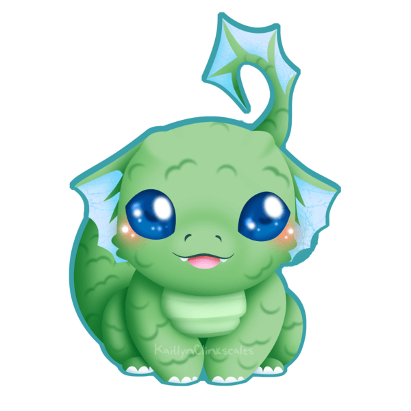 Baby Dragon clipart png free