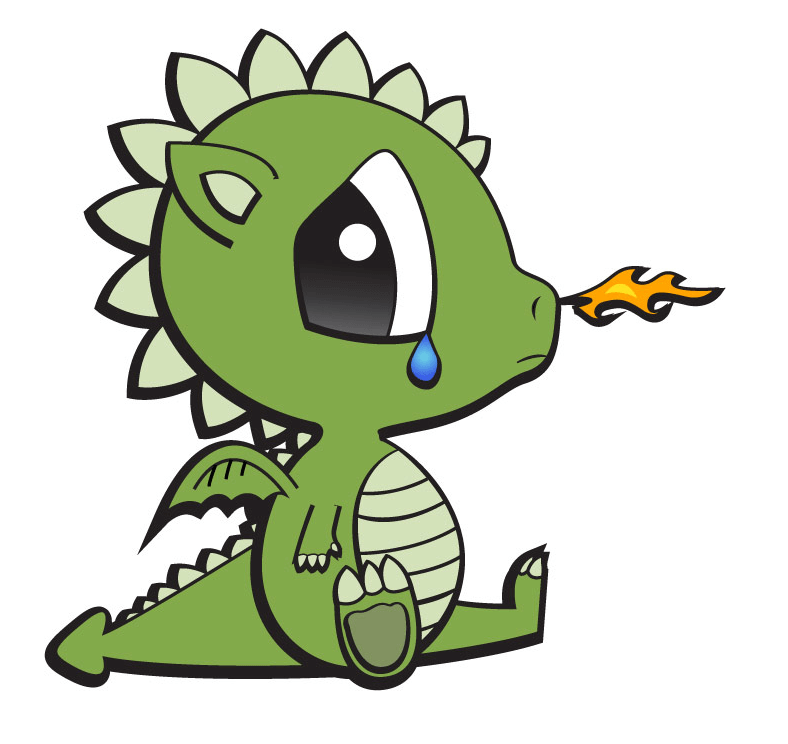 Baby Dragon clipart png images