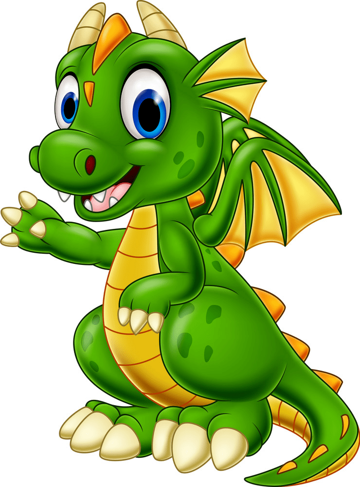 Baby Dragon clipart png