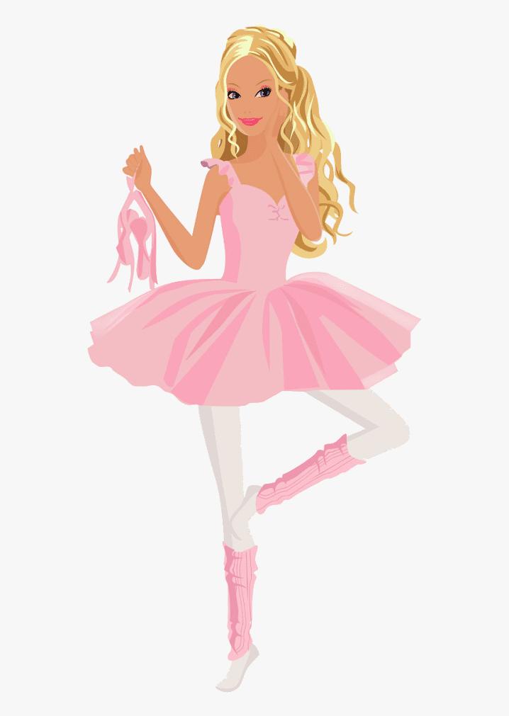 Ballet Barbie clipart