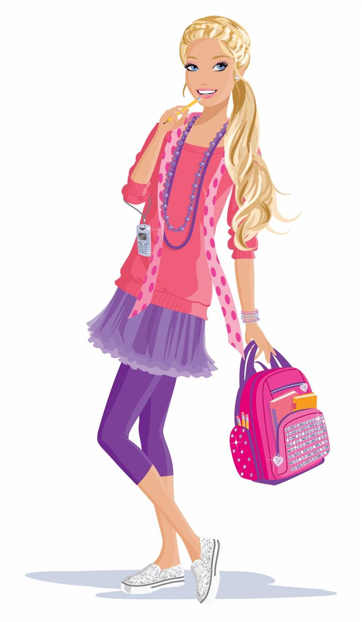 Barbie clipart png 4