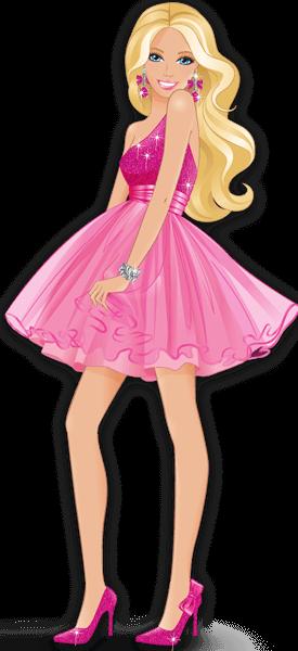Barbie clipart transparent 5