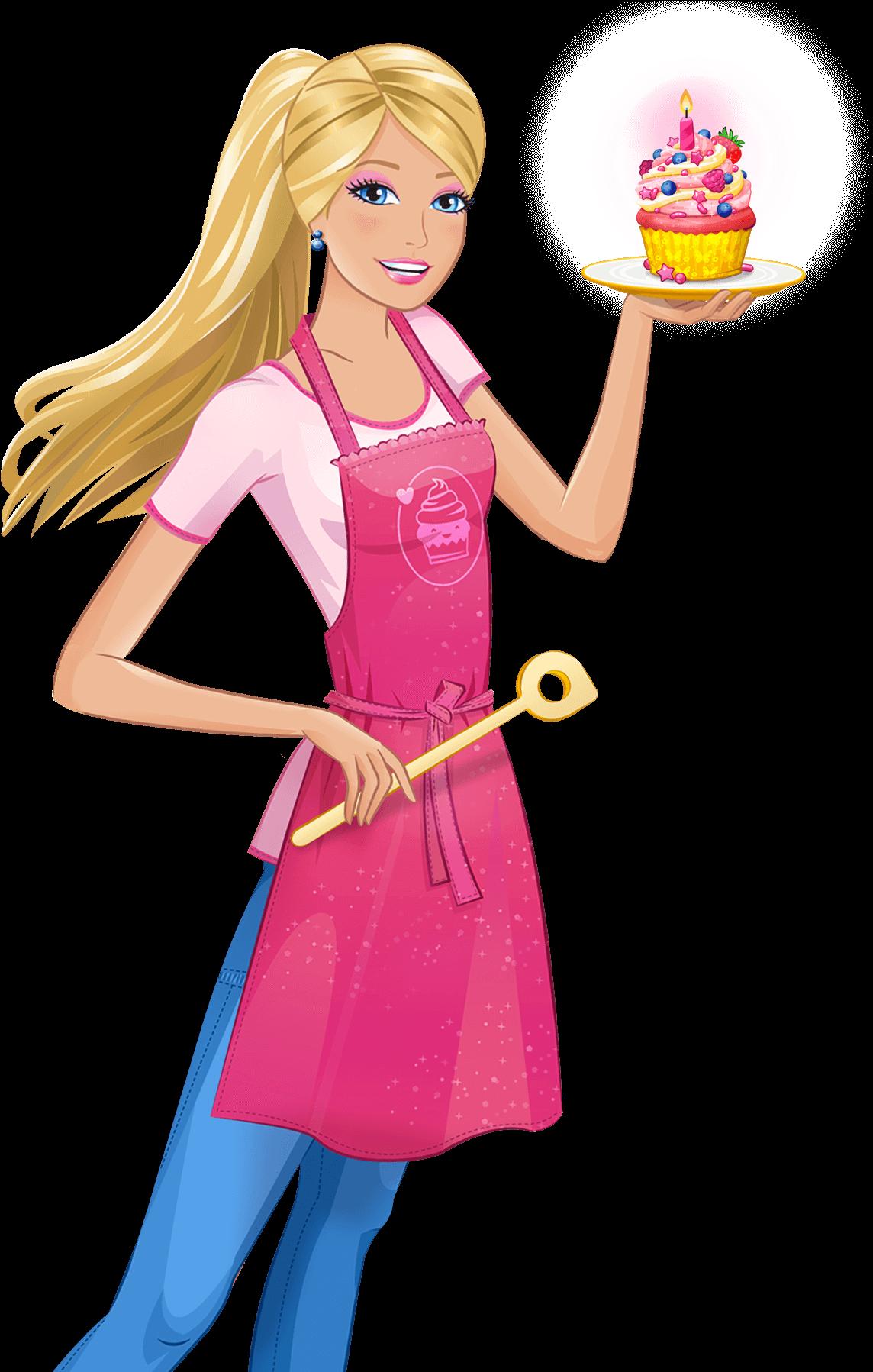 Barbie clipart transparent background 2