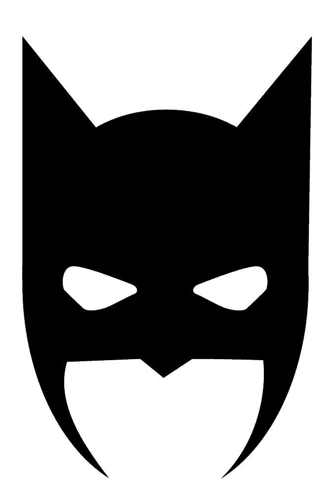 Batman Mask clipart free