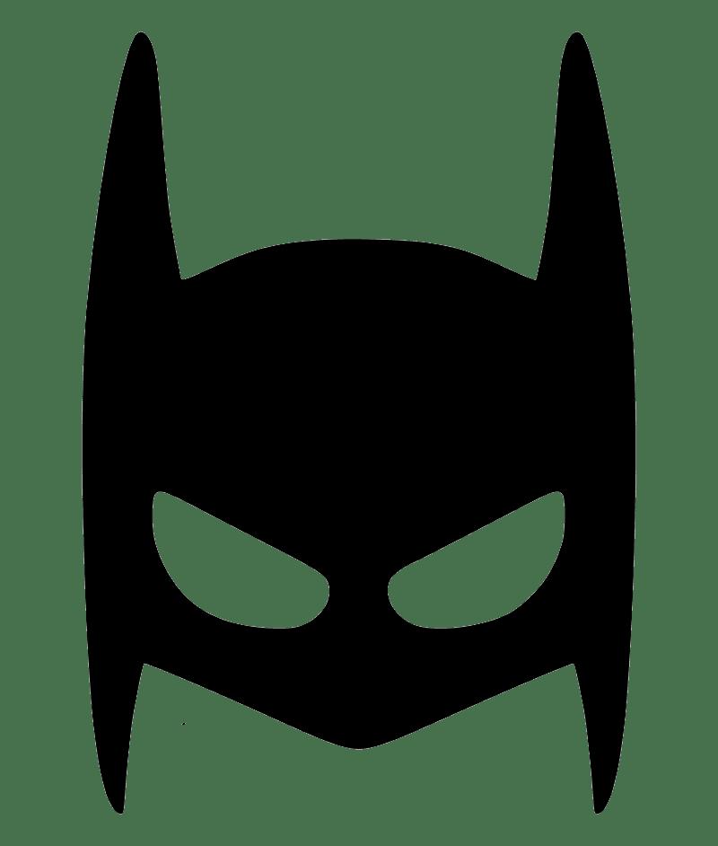 Batman Mask clipart transparent